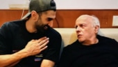 Sadak 2: Aditya Roy Kapur shares photo with Mahesh Bhatt from film sets