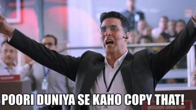 Rajasthan Police uses Akshay Kumar's Mission Mangal meme to teach traffic rules. Twitter hearts it