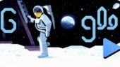 Google Doodle marks 50th year of Apollo 11 Moon Landing. Michael Collins narrates the moment in video