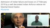 Fact Check: Pak Army spokesperson Asif Ghafoor tweets doctored video of IAF veteran on Balakot airstrikes