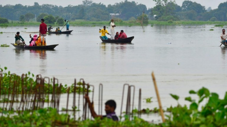 Assam flood: Water level in Guwahati rising by 3 cm/hour
