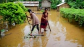 Heavy rain and floods in Assam kill at least 10 and displace more than 1 million