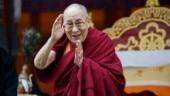 Chinese nationals proteston Ladakh border during Dalai Lama's birthday celebrations