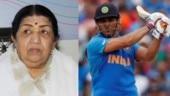 Dhoni, desh ko aapke khel ki zaroorat hai. Lata Mangeshkar asks MS to not retire with moving post