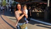 Esha Deol shares adorable throwback photo from US vacay with daughter Radhya