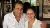 Esha Deol and dad Dharmendra twin in white in adorable new photo. See pic