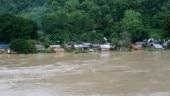 2 dead, 390 houses submerged in Mizoram flood