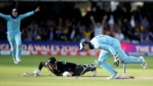 Martin Guptill was run-out in the super over as England won the World Cup 2019. (Reuters Photo)