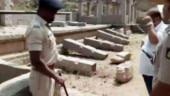 Govt assures action after Hampi holy site vandalised