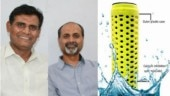 Engineering duo from Hyderabad solve hard water problem with device that needs zero electricity and maintenance