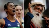 Sadhguru tweet to congratulate Hima Das on gold win is viral for all the wrong reasons
