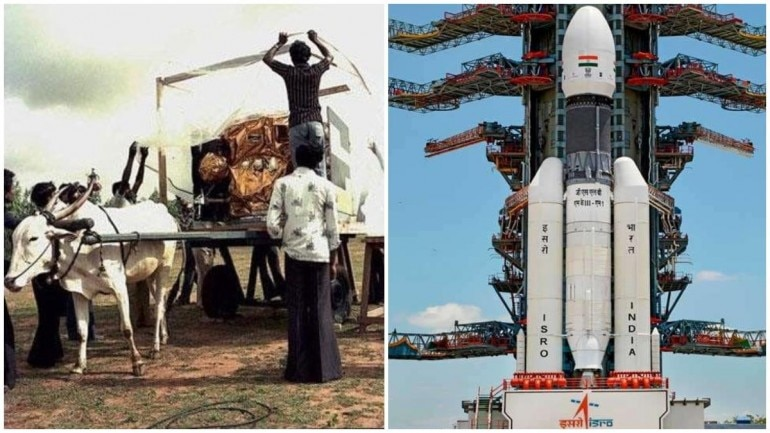 Chandrayaan 2 Launched Bullock Cart To Moon Internet