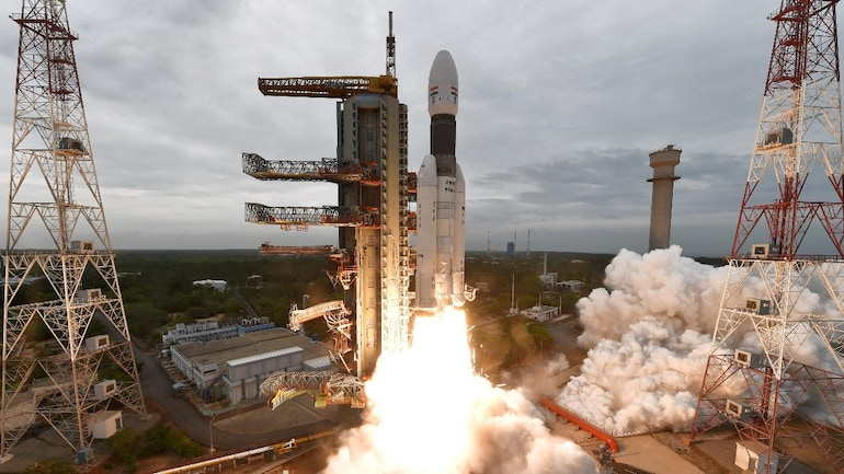 Chandrayaan-2 succesfully launched by Isro on GSLV Mk-III rocket