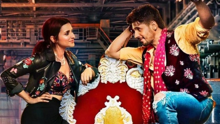 Parineeti Chopra and Sidharth Malhotra in a still from Jabariya Jodi.