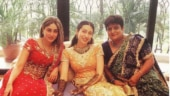 Kareena Kapoor is a sight to behold at sister Karisma's mehendi ceremony. See throwback pic