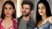 Ananya Panday was asked whether she or Sara Ali Khan looks better with Kartik Aaryan. Here's what she said