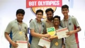 14-year-olds from India bag first prize in Asia's biggest robotics competition for second time