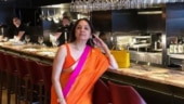Neena Gupta walks into London bar in saree and plunging neckline blouse. Internet gasps for breath