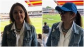 Neena Gupta watches ICC World Cup final match at Lord's Cricket Ground