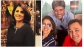 Neetu Kapoor shares photo with hubby Rishi and Kapil Dev: Super charged about World Cup 2019