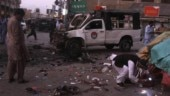 5 killed, 38 injured in blast targeting police vehicle in Pakistan
