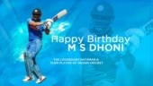 Happy Birthday MS Dhoni: India's most successful captain turns 38
