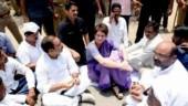 Sonbhadra tragedy: Priyanka Gandhi meets grieving kin, lends shoulder, offers water
