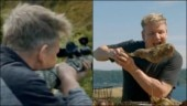 Gordon Ramsay shoots goat, cooks and eats it on new TV show. Internet destroys him