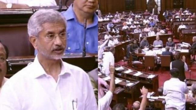 Jaishankar clarifies India's stand on Trump remark, Rajya Sabha adjourned after ruckus
