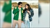 Shloka Mehta is glam doll in fur jacket and holographic pants with Akash Ambani in old pic