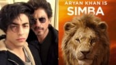 Aryan Khan sounds just like dad Shah Rukh Khan in new The Lion King teaser. Watch video