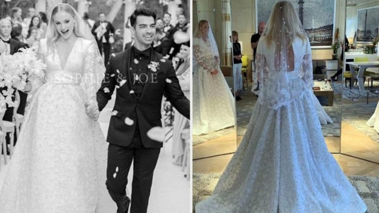 Official Wedding Photos.Sophie Turner And Joe Jonas S First Official Wedding