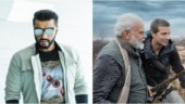 Arjun Kapoor is all praise for PM Narendra Modi and Bear Grylls in Man vs Wild promo. Watch video