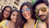 Sushmita Sen shares perfect family photo with Rohman Shawl, daughters Renee and Alisah. See pic