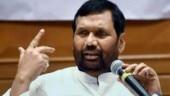 Ram Vilas Paswan takes oath as Rajya Sabha member