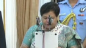 Anusuiya Uikey takes oath as governor of Chhattisgarh