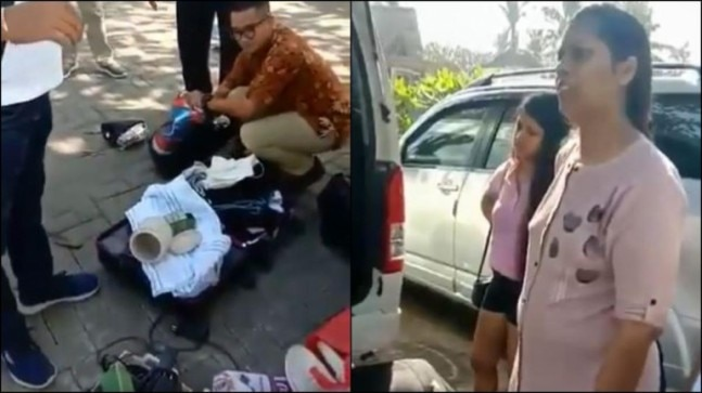 Indian Family Steals Accessories From Bali Hotel Caught By Staff