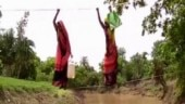 MP: Villagers forced to cross river stream with help of ropes