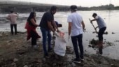 Delhi newspaper hawkers take charge of cleaning Yamuna river banks