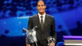 Virgil van Dijk beats Cristiano Ronaldo and Lionel Messi to pick up UEFA Men's Player of the Year award
