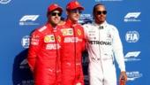 Belgian GP: Charles Leclerc beats Sebastian Vettel to pole at Spa as Ferrari lock front row