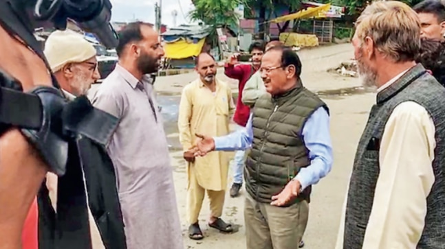 NSA Ajit Doval reaches Kashmir to implement multi-pronged strategy