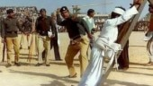 Fact Check: Was this Muslim man flogged in a crowded stadium in India?