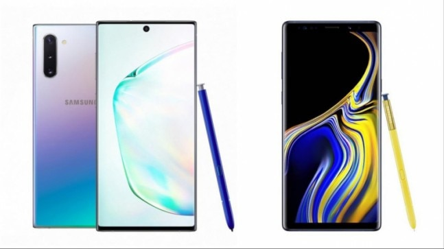 Samsung Galaxy Note 10 vs Galaxy Note 9: How different is the new