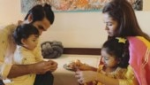 Shahid Kapoor and Mira Rajput celebrate son Zain's first Rakhi with Misha. See adorable pic