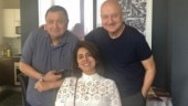 Anupam Kher and Rishi Kapoor fought like kids to pay taxi fare in New York. Watch video