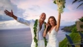 Dwayne Johnson marries longtime partner Lauren Hashian in beautiful ceremony in Hawaii. See pics