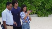 Shah Rukh Khan and Suhana Khan are stylish father-daughter duo in new pic from Maldives vacay