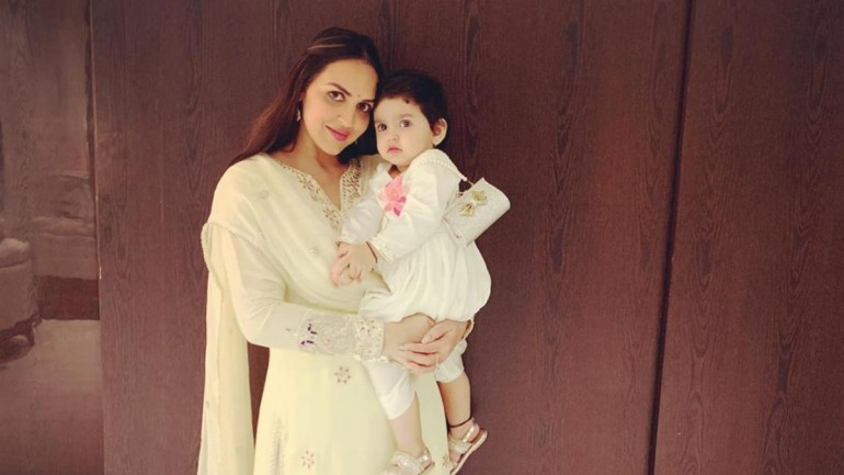 Esha Deol and daughter Radhya are adorable duo in new Janmashtami ...