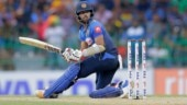 Watch: Kusal Mendis falls off bike during Sri Lanka's victory celebrations